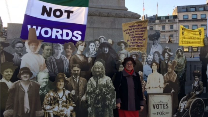 Suffragettes and Now